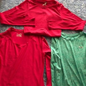 Women's Under Armour long sleeve shirts  small